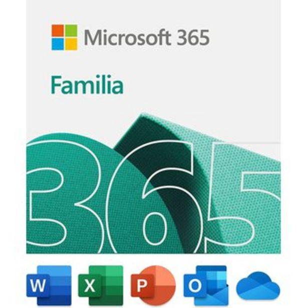 Oferta de Office 365 Familia 1 Año Hasta 6 Usuarios 30 Dispositivos Pc o MacOS por $129900