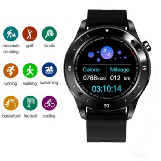 Oferta de Reloj inteligente GPS Bluetooth 4.0 Smart Watch por $141750