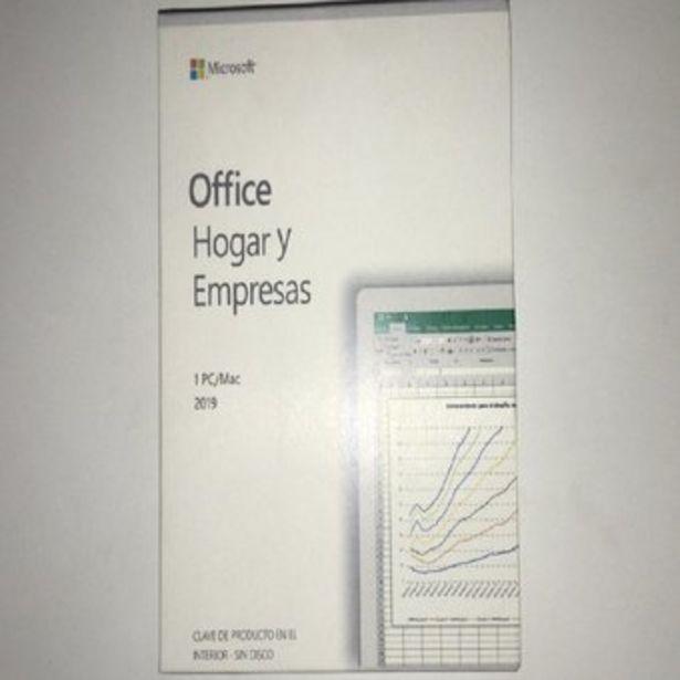Oferta de Office Hogar y Empresas 2019 por $219900