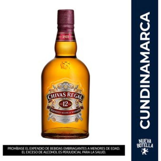 Oferta de Whisky Chivas Regal 12 Years 700 Ml por $90015