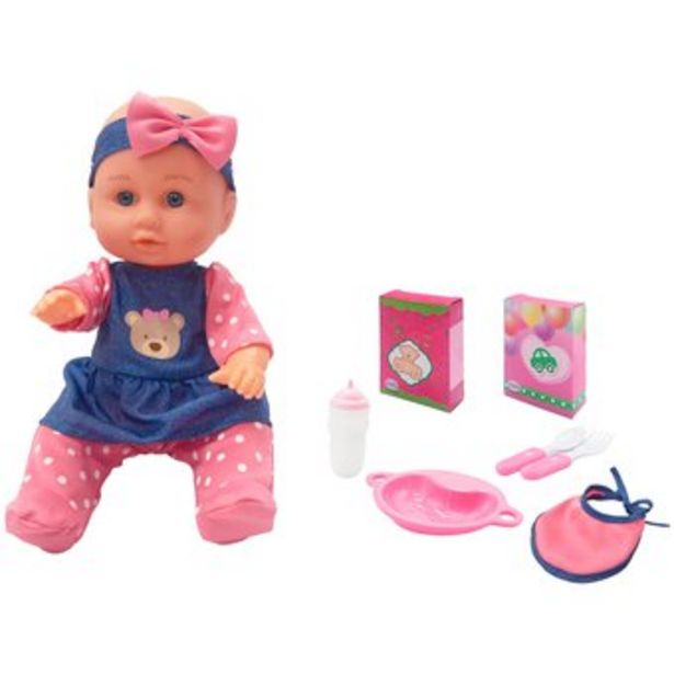Oferta de Muñeca Baby Little Luv Donna 71288-Multicolor por $19995