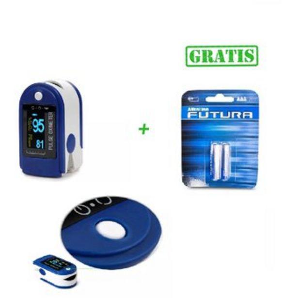 Oferta de Pulso oximetro + Baterías aaa + Estuche por $70000
