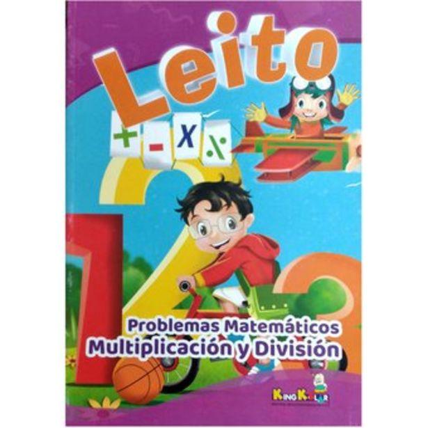 Oferta de Cartilla Libro Leito Problemas Matemáticos Multiplicación por $7000