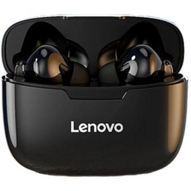 Oferta de Audifonos inalambricos Lenovo XT90 TWS Bluetooth – Negro por $62390