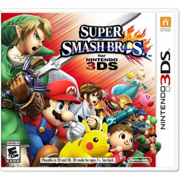Oferta de Super Smash Bros. - Nintendo 3DS por $199990
