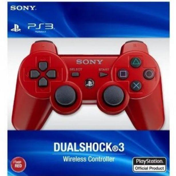 Oferta de Control Ps3 Inalambrico Play Station Dualshock 3 Rojo Nuevo por $33600