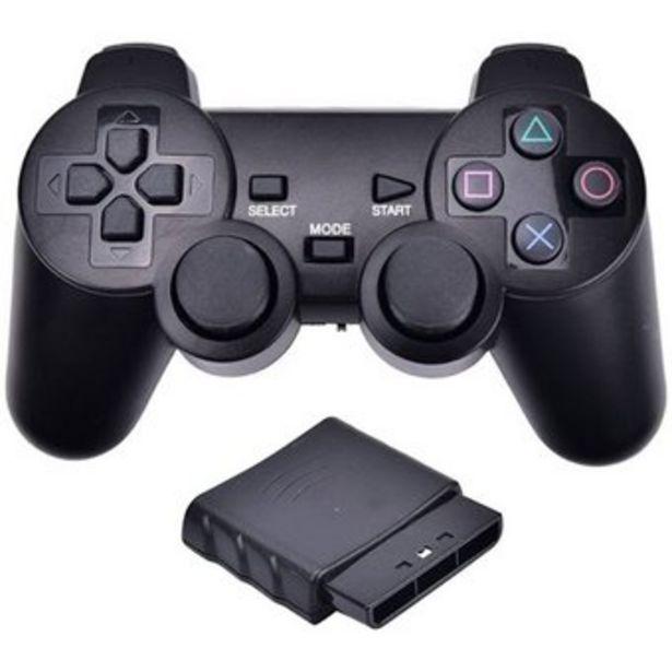 Oferta de Control Inalambrico Negro Ps2 Play Station 2 Consola por $29900