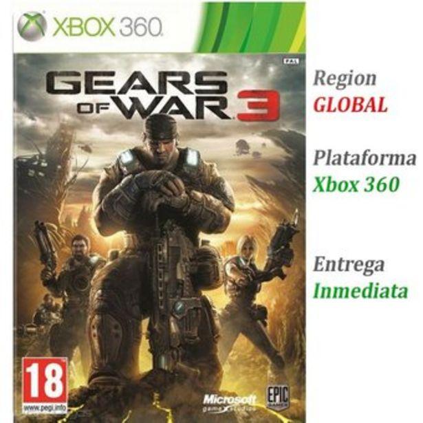 Oferta de Gears of War 3 - Xbox 360 por $39900