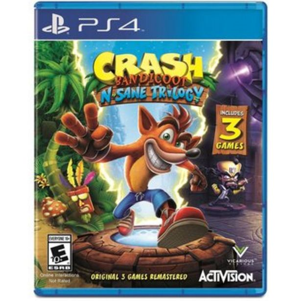 Oferta de Crash Bandicoot N. Sane Trilogy - PlayStation 4 por $209900