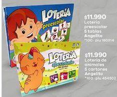 Oferta de Juegos de mesa infantiles por $11990
