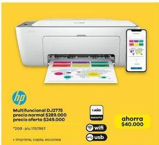 Oferta de Impresora multifuncional HP por $249000