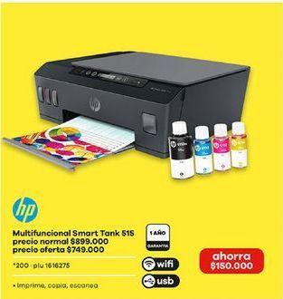 Oferta de Impresora multifuncional HP por $749000