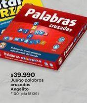 Oferta de Juegos de mesa por $39990