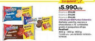 Oferta de Galletas Festival por $5990