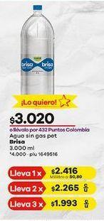 Oferta de Agua brisa por $3020