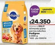 Oferta de Comida para perros Pedigree por $24350