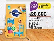 Oferta de Comida para perros Pedigree por $25650