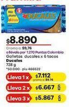 Oferta de Galletas Ducales por $8890
