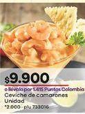 Oferta de Ceviche de camarones por $9900