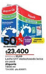Oferta de Leche deslactosada Alquería por $23400