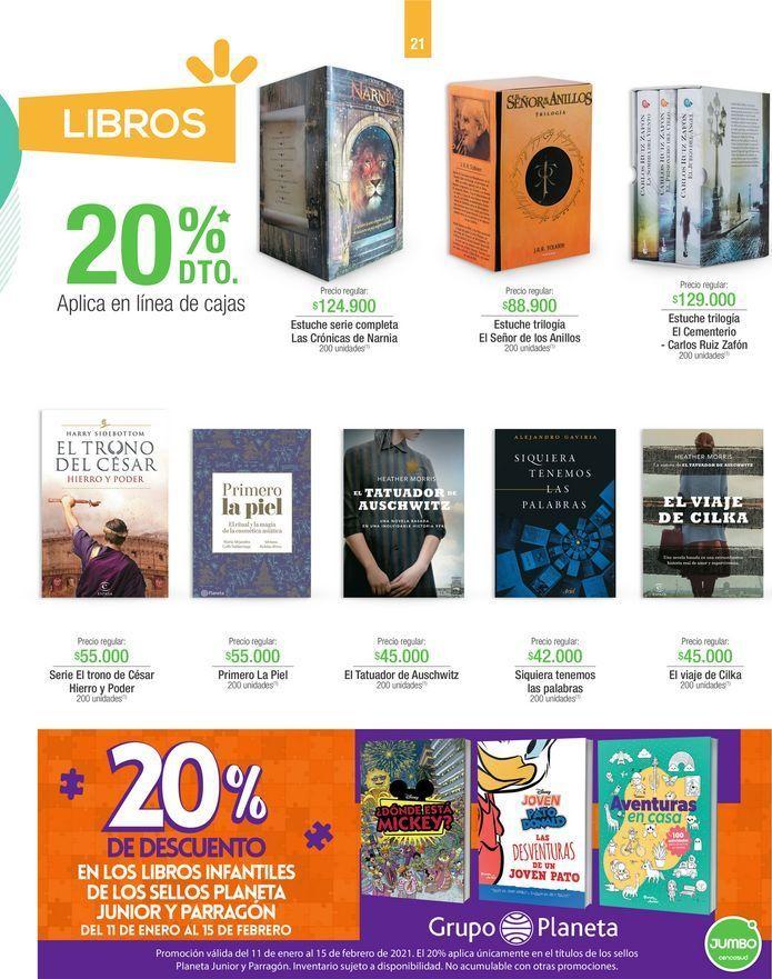Oferta de Libros por