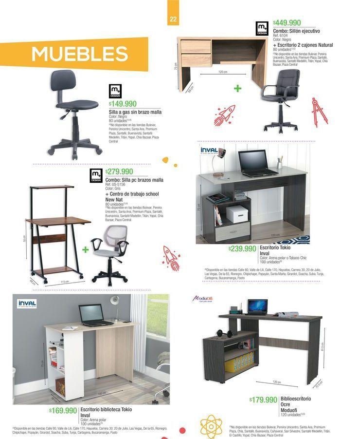 Oferta de Muebles por