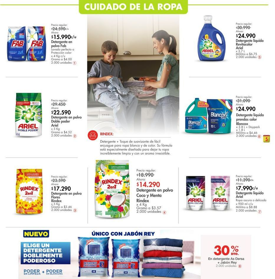 Oferta de Detergente por