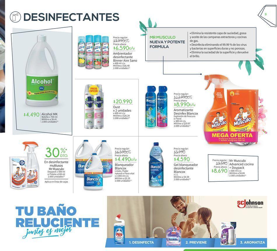 Oferta de Desinfectante por
