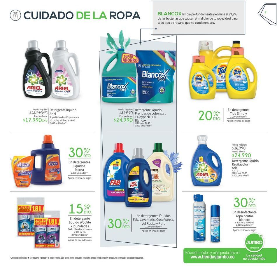 Oferta de Detergente líquido por