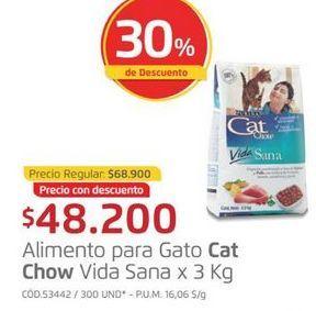 Oferta de Comida para gatos Cat Chow por $48200