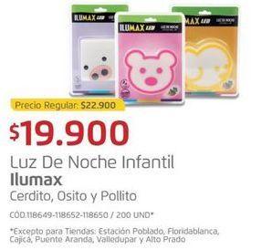 Oferta de Luz de noche Ilumax por $19900