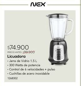 Oferta de Licuadora Nex por