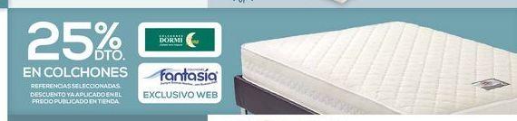 Oferta de 25% dto En colchónes por
