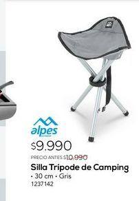 Oferta de Sillas tripode de camping por $9990