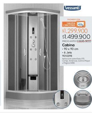 Oferta de Cabina de ducha por $1499900