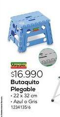 Oferta de Butaquito plegable por $16990