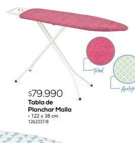 Oferta de Tabla de planchar malla por $79990
