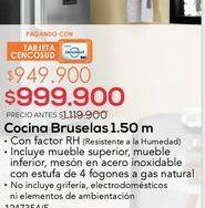 Oferta de Cocina bruselas 1,50m por $999900