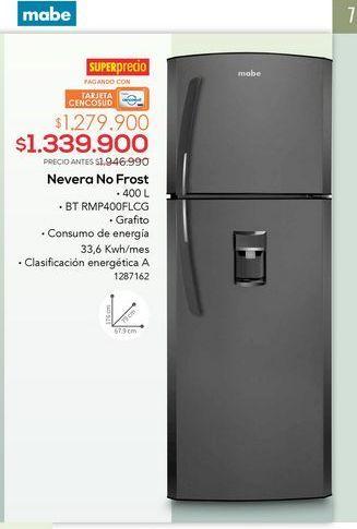 Oferta de Nevera no frost por $1339900