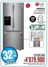 Oferta de Heladera LG por $4079900