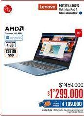 Oferta de Computador Portátil Lenovo por $1299000