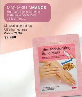 Oferta de Mascarilla de manos ultra humectante por $9990