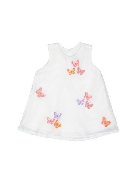 Oferta de Vestido De Mariposas Bordadas Sin Mangas por $53940