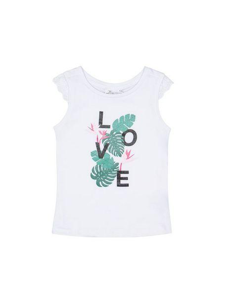 Oferta de Camiseta Estampada Con Glitter por $22760