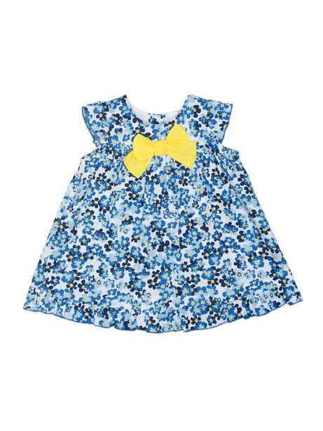 Oferta de Vestido Estampado Con Mini Flores Manga Corta por $59940