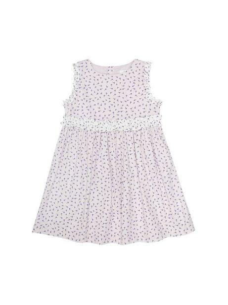 Oferta de Vestido Estampado Con Mini Lavandas Sin Mangas por $69930