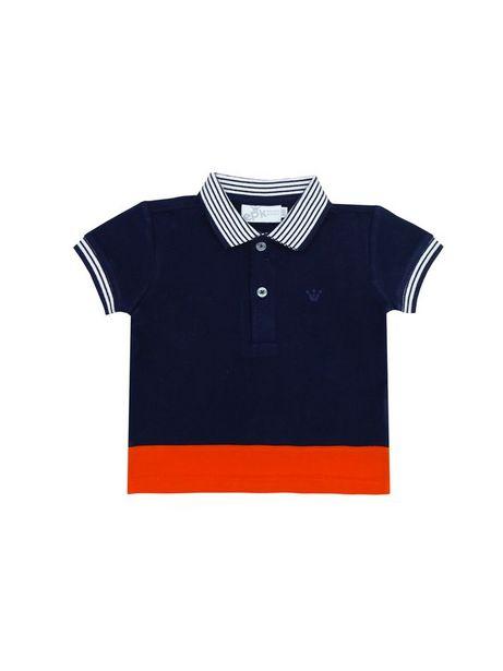 Oferta de Polo En Piquet Color En Contraste por $31450