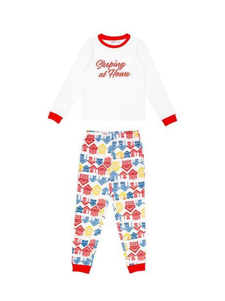 Oferta de Pijama De Dos Piezas Manga Larga por $53940