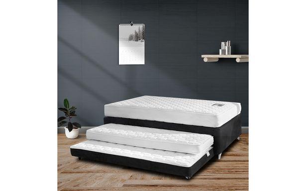 Oferta de COMBO TWIN BED MASTER NEGRO SAN_100*200 por $2871999