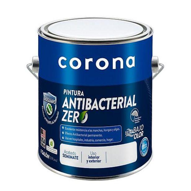 Oferta de Pintura Antibacterial Zero Blanco Semimate por $104700